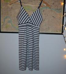 Ljetna mini haljina na pruge