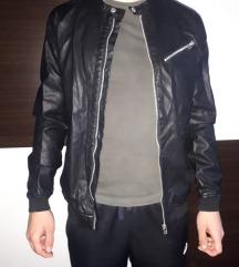 Crna jakna, MUŠKA, eko koža