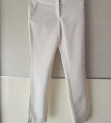 Bijele poslovne hlače
