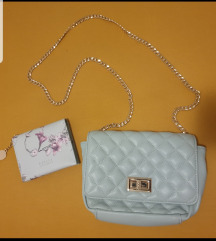 Mohito torbica i novčanik novo