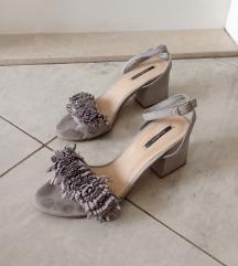 Sive sandale AKCIJA DO 12.7.