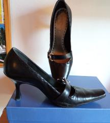 Retro kožne cipele na petu