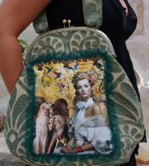 Torba, handmade sa printom