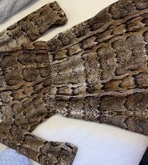 H&m snakeprint haljina/tunika
