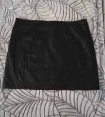 Lulu's crna faux kozna suknja 🖤2nd hand🖤