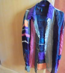 Benetton svilena košulja 34