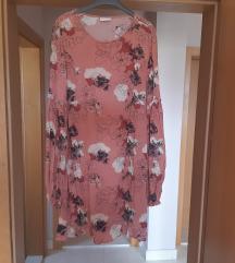 Asos roza cvjetna haljina