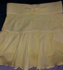 Pamucna mekana tanka suknja c&a 110