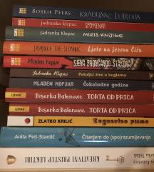 Knjige razno NOVO!