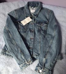 %% Traper jakna medium denim L Zara
