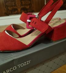 Crveno roze sandale