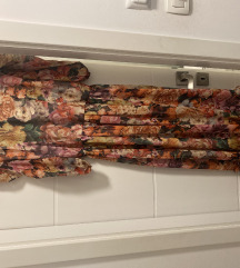 Maxi floral haljin