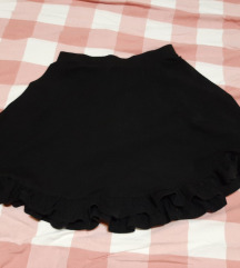 Iggy crna suknja sa volanom S