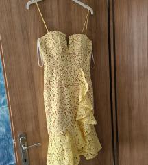 Asos Jarlo žuta haljina