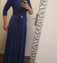 Elfs tamnoplava haljina na preklop