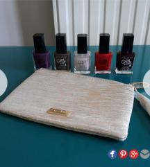 Avon lakovi za nokte + poklon nova Bvlgari torbica
