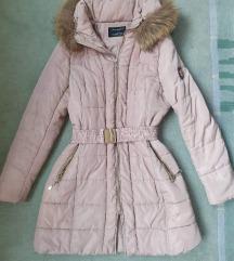 Giovanni zimska jakna M/L, pravo krzno