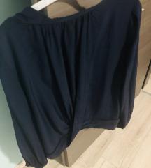 2+1Zara bluza s biserima od viskoze S/M