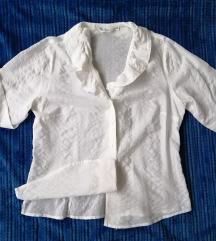 MODEA bijela Vintage košulja