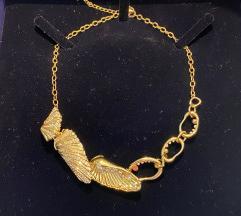 Swarovski skoljka ogrlica