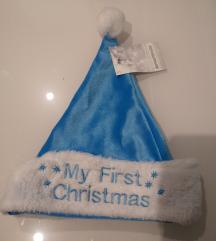 Božićna kapa za bebe
