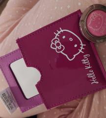 Hello Kitty ogledalce i drzac torbi