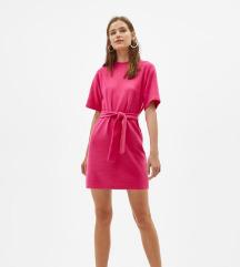 Roza topla haljina  (pt u cijeni)