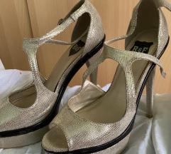 R&F Zlatne sandale