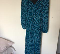 Novo Bershka haljina puf rukava