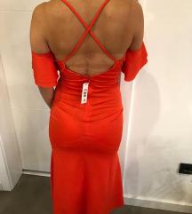 Nova haljina midi duzine