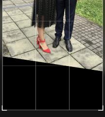 Kožna suknja 36 unikat