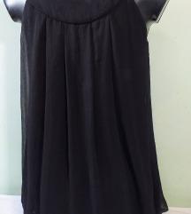 QED LONDON /ASOS crna haljina sa mašnom