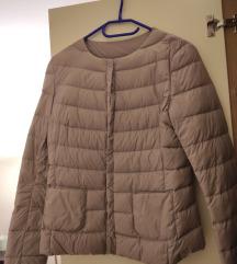 Benetton kratka ljubičasta jakna