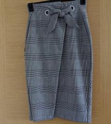 H&m karirana/pepito suknja