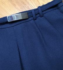 🍁MANGO🍁 navy blue suknja s naborima