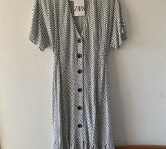 Zara midi tockasta haljina