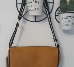 Konjak boje torbica