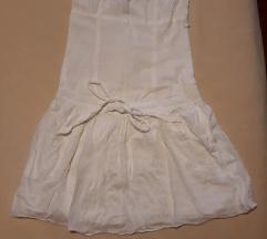 Bijela pamucna haljinica