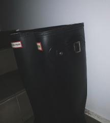 HUNTER visoke crne mat čizme, original 40/41
