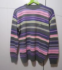 LACOSTE pletena prugasta šarena majica