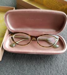 SADA 400 kn! miu miu dioptrijske naočale