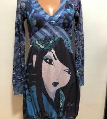 DANAS 150 KN! DESIGUAL haljina gejša S 34 36