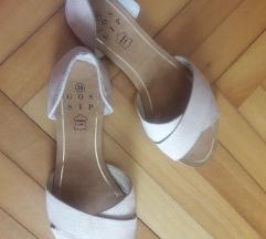 Ljetne sandale od brušene umjetne kože
