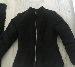Crna jakna od gamoša XS/S