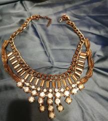 široka ogrlica sa cirkonima