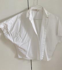 Zara bijela kosulja leptir rukavi