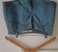 Kratke polka dot hlačice