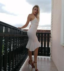 Bijela asos haljina