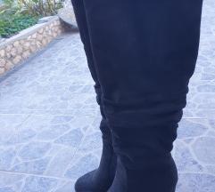 Visoke čizme na petu