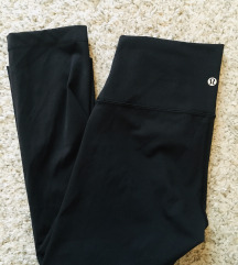 Original Lululemon crne tajice vel S-M